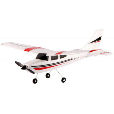 Gearbest WLtoys F949 Cessna 182 2.4G 3 Channel RC Aircraft Fixed - wing RTF Airplane