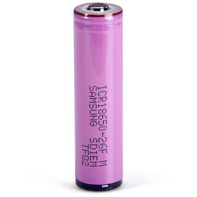 ICR18650  -  26FM 3.7V 18650 2600mAh Protected Li - ion Battery Rechargeable Flashlights Battery