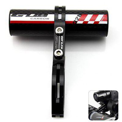 GUB - 329 Carbon Fiber Mountain Road Bicycle Handlebar Extension Stopwatch Rack Flashlight Holder
