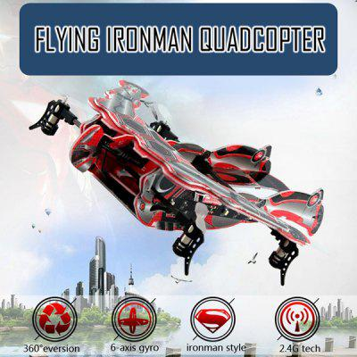 SKY HERO 1326B Ironman Shape 6 Axis Gyro 2.4G 4CH RC Quadcopter with 3D Rollover