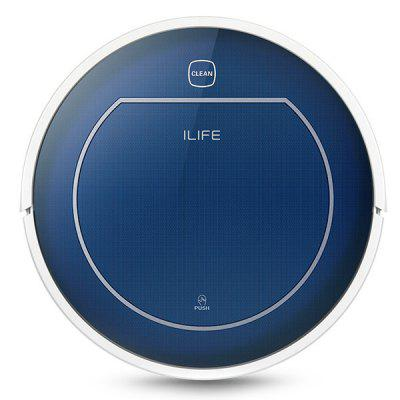 ILIFE V7 Super Mute Sweeping Robot Home Vacuum Cleaner Dust Cleaning with 2500mAh Li-ion Battery new vacuum cleaner a380 d6601 with lithium ion battery low noise wireless robot vacuum cleaner super cyclone vacuum cleaner