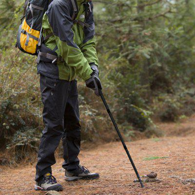 EAMKEVC YiKai Outdoor Trekking Hiking Pole Alluminum Alloy Folding Telescopic Stick Cane