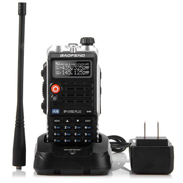 baofeng uvb2 plus vhf uhf dual band programmable walkie. Black Bedroom Furniture Sets. Home Design Ideas