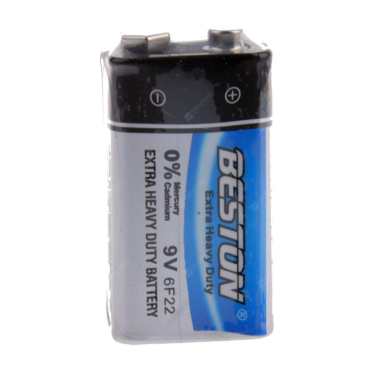 Beston 6f22 9v Extra Heavy Duty Cell Battery For Multimeter 18650 2400mah Rechargeable Liion Batteries W Protection Circuit Microphone 230 Free Shipping