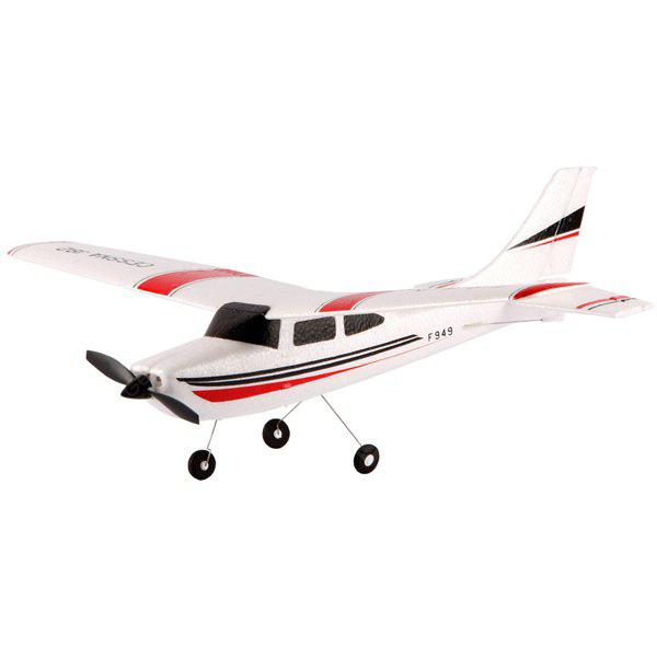 WLtoys F949 Cessna 182 2.4G 3 Channel RC Aircraft Fixed - wing RTF Airplane