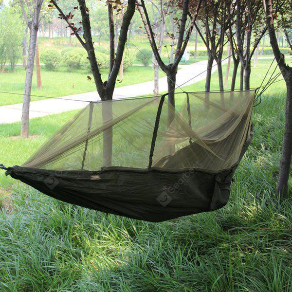 Casual Outdoor Camping Hammock with Mosquito Net 150kg Load Bearing
