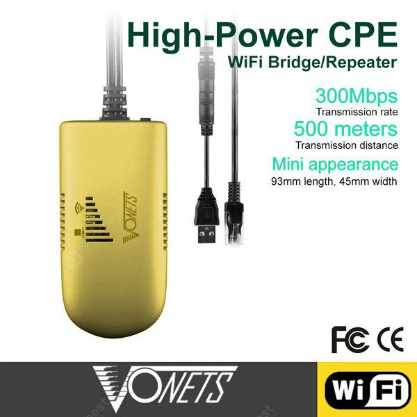 Vonets VAP11G-500 Industrial Wireless WiFi Bridge / Repeater / AP Client