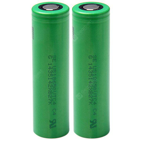 US18650VTC4 18650 3.7V 2100mAh Rechargeable Li - ion Batterie 30A Décharge - 4 pcs