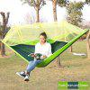 Assorted Color Casual Indoor / Outdoor Camping Hammock with Mosquito Net - FRUIT GREEN AND GREEN