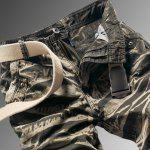 cheap Military Style Stylish Camo Design Multi-Pocket Straight Leg Cotton Blend Cargo Pants For Men