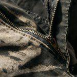best Military Style Stylish Camo Design Multi-Pocket Straight Leg Cotton Blend Cargo Pants For Men