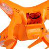 Newest Syma X8C Venture New Package 4 Channel 2.4G RC Quadcopter with HD Camera 6 Axis 3D Flip Fly UFO EU Plug - ORANGE