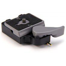 323 Quick Release Clamp Adapter with 200PL - 14 Compate Plate for Camera Tripod