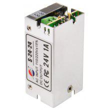 S-24-24 24W 24V / 1A Output Switch Power Supply Driver for LED Light and Surveillance Security Camera ( 110/220V )