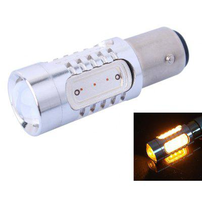 1156 / BAU15S 7.5W 500LM 560 - 590nm 5 LEDs Car Turn Signal Light Brake Light Tail Light ( Yellow Light DC 10 - 24V )