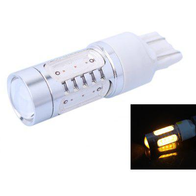 T20 / 7443 11W 350LM 560 - 590nm 5 LEDs Car Turn Signal Light Reversing Lamp ( Yellow Light DC 12 - 24V )