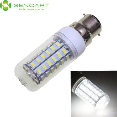 SENCART B22 12W 56 x SMD 5730 2200LM 6000K Dimming LED Light Bulb AC 110 - 240V