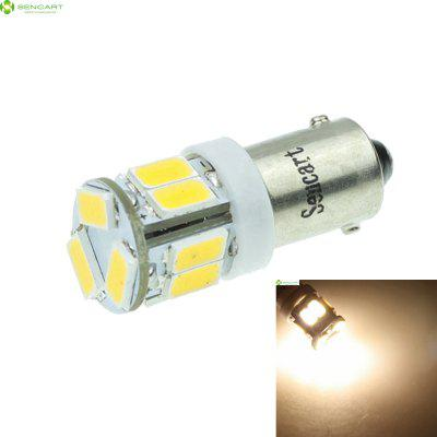 BA9S T4W W6W 5W 11 x SMD 5730 500Lm Warm White LED Car Light Bulb ( DC 12 - 16V )
