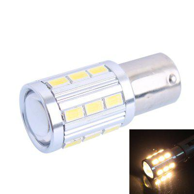 1156 / BA15S 4W 220LM 3000K SMD - 5730 21 LEDs Warm White LED Car Turn Signal Light Reversing Lamp Side Marker Light ( DC 12 - 24V )