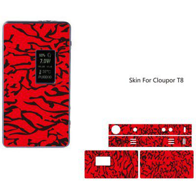 Cool Pattern Skin for Cloupor T8 Full Body Vinyl Sticker
