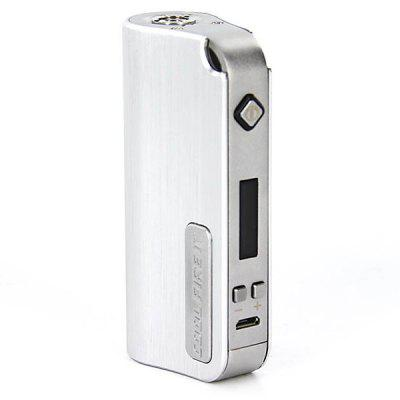 Innokin iTaste Cool Fire IV 40W VV / VW Variable Wattage 2000mAh E - Cigarette Stainless Steel Box Mod - 510 Thread
