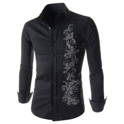 Long Sleeve Men\'s Patterned Shirts