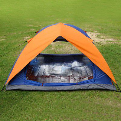 EyeFire Double Layer Camping 1000 - 1500mm Waterproof Tent for 2 - 3 Persons