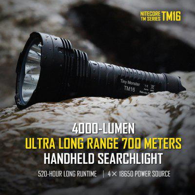 Nitecore TM16 Ultra Long Ranged LED Flashlight CREE XM - L2 U2 4000Lm 18650 Waterproof Torch