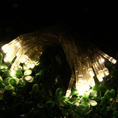 4 Meters 40 LEDs Green Light Battery Powered Fairy String Light for Festival Party ( 3 x AA Battery )