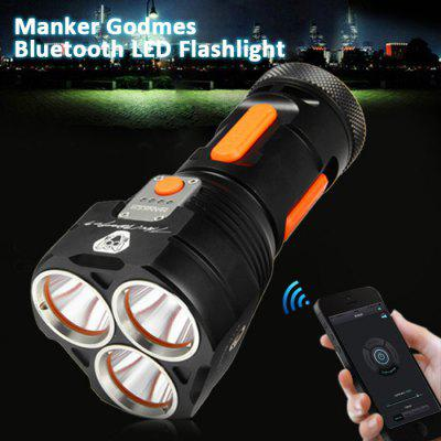 Manker Godmes Cree XP - L 3000LM Bluetooth APP Control LED Flashlight