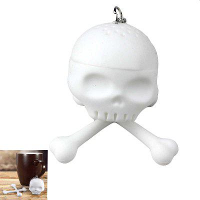 Novel Portable Silicon Material Skeleton Style Filter Tea Tool Home Supply
