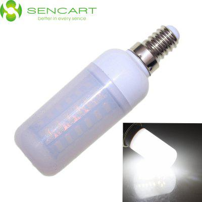 Sencart E14 12W SMD - 5730 56 LEDs Dimmable White LED Light Bulb 2200LM AC 110 - 240V Frosted Case