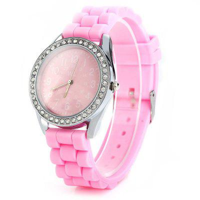 WL Candy Colors Diamond Ladies Quartz Watch