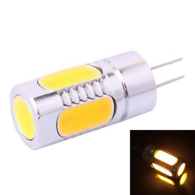 G4 5D 5W 250LM Warm White LED Crystal Light Bulb ( DC 12V )