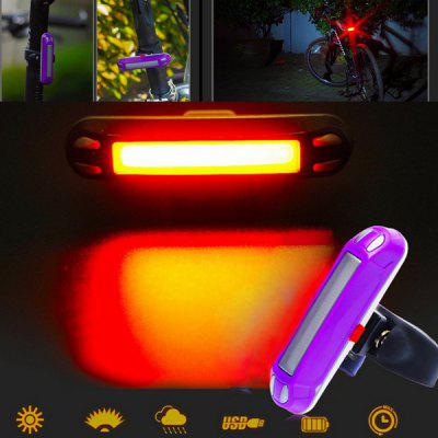 30 LED Bicycle Night Warning Light IP55 Waterproof USB Charging