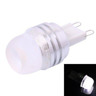 G9 2D 2W 90LM White 3-core LED Crystal Light Bulb ( DC 12V )
