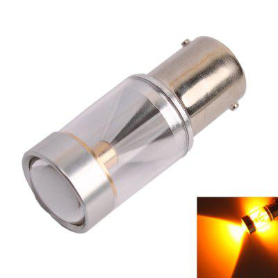 1156 / BA15S 30W 560 - 590nm 600LM 6 x Cree XB - D Yellow LED Car Turn Signal Light with Anti-beam ( DC 10 - 24V )