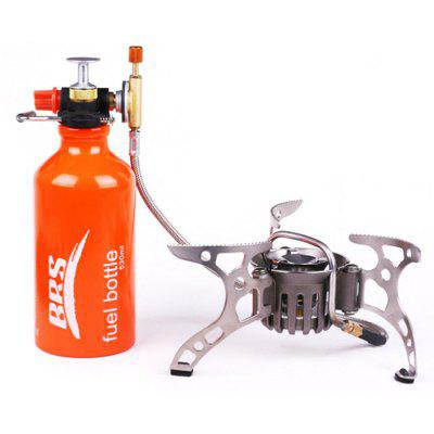 Brother BRS-8 Portable Outdoor Picnic Oil Gas Furnace Tank Kit - 530ml