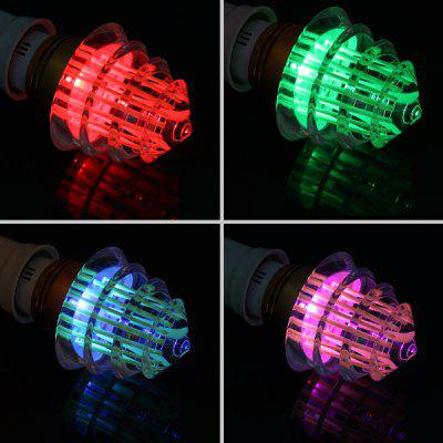 E27 Christmas Tree RGB LED Light Bulb with 24 Key Remote Controller 3W AC 85 - 265V