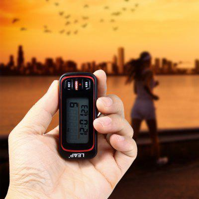 LEAP PC311 3D Sensor Pedometer Stopwatch Electronic Watch for Sports Fitness with LCD