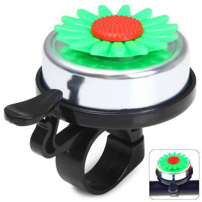 Sunflower Design Bike Handlebar Bell Ring for Outdoor Cycling