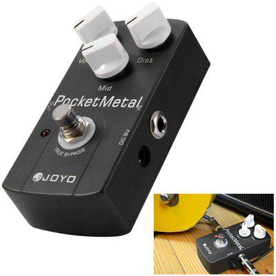 JOYO JF - 35 True Bypass Pocket Metal Mid Tone Adjustment Guitar Distortion Effect Pedal