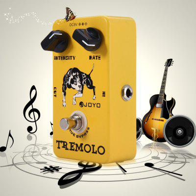JOYO JF - 09 True Bypass Design Tremolo Electric Guitar Effect Pedal with Photoelectric Tube Circuit