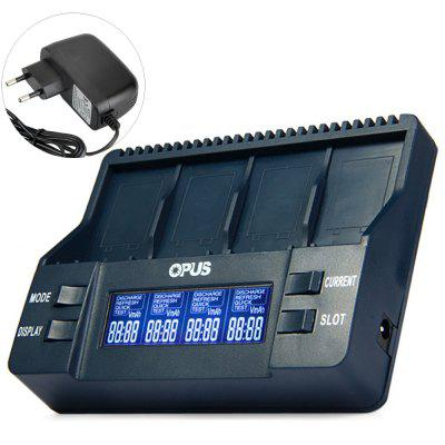 Opus BT  -  C900 Intelligent 9V Lithium - ion NiMH LCD Battery Charger - EU Plug