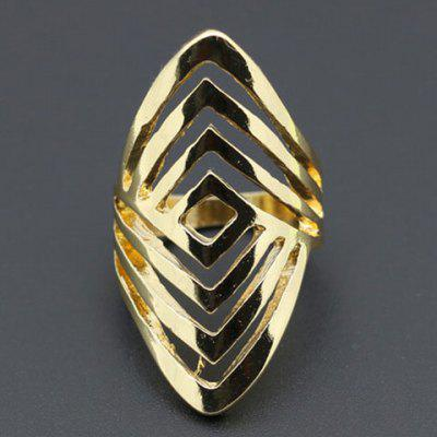 Characteristic Hollow Out Solid Color Ring For Women
