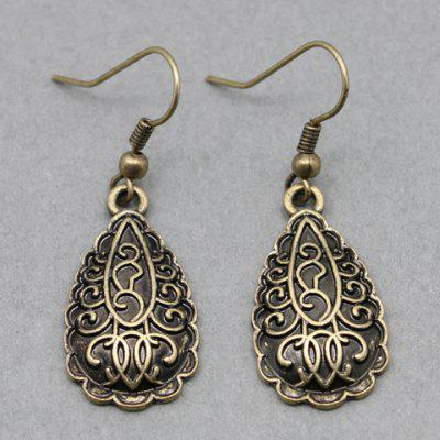 Pair of Classic Drop Earrings For Women
