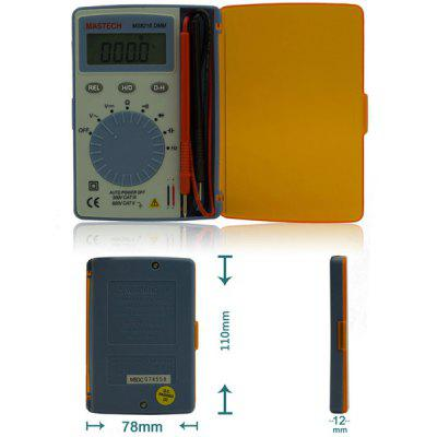 MASTECH MS8216 Professional Digital Multimeter 4000 Counts LCD Autoranging AC / DC Voltage DMM Pocket Tester