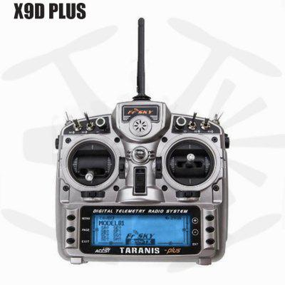 FrSky Taranis X9D Plus 16CH RC Transmitter with X8R ReceiverRadios &amp; Receiver<br>FrSky Taranis X9D Plus 16CH RC Transmitter with X8R Receiver<br><br>Brand: FrSky<br>Package Contents: 1 x Transmitter, 1 x X8R Receiver, 1 x 2000mAh NiMH Battery, 1 x Neck Strap, 1 x Carton<br>Package size (L x W x H): 26.00 x 23.00 x 13.00 cm / 10.24 x 9.06 x 5.12 inches<br>Package weight: 1.5200 kg<br>Type: Transmitter