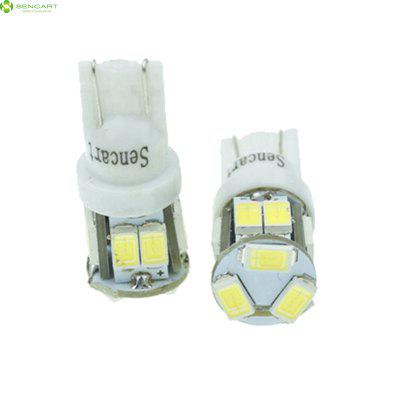 2 x Sencart T10 149 W5W 5W 11 x SMD 5730 500Lm LED Car Light Bulb ( 6000 - 6500K DC 12 - 16V )