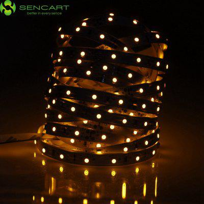 Sencart 5 Meters x 60 SMD - 2835 LEDs 1500LM Cuttable Adhesive Yellow LED Light Strip ( 30W DC 12V )